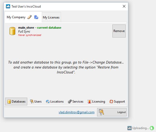 databaseuploading